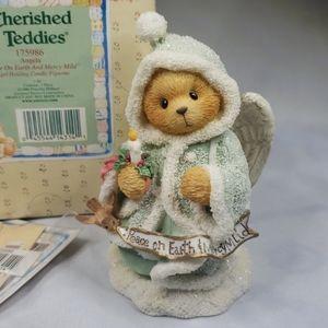 Angela Cherished Teddies 175986 Angel candle